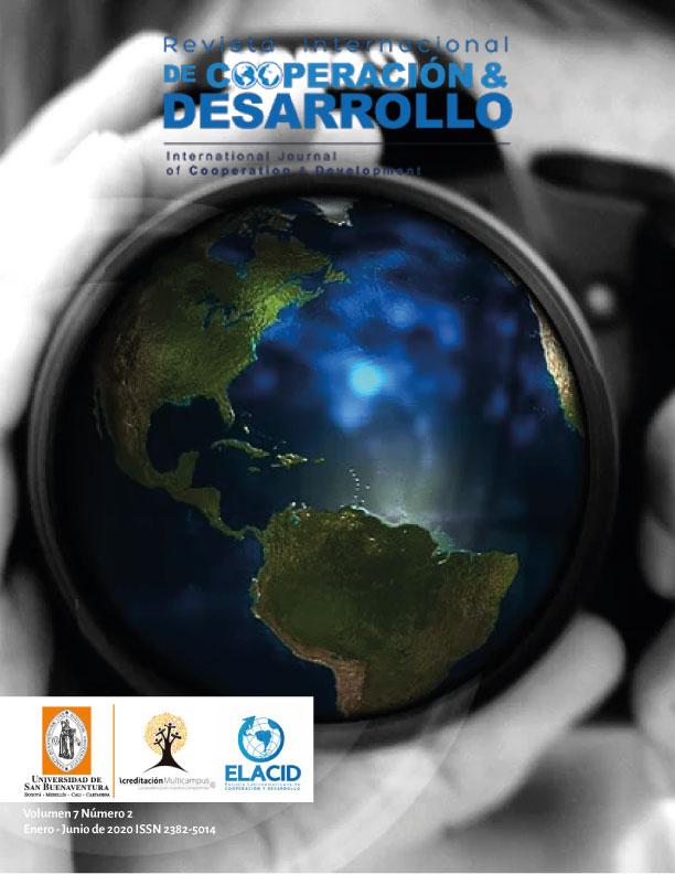 Ver Vol. 2 Núm. 7 (2020): Revista Internacional de Cooperación y Desarrollo