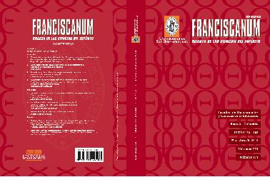 Ver Vol. 61 Núm. 171 (2019): Franciscanum 171