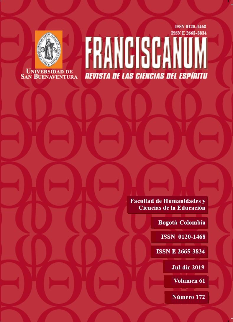 Ver Vol. 61 Núm. 172 (2019): Franciscanum 172