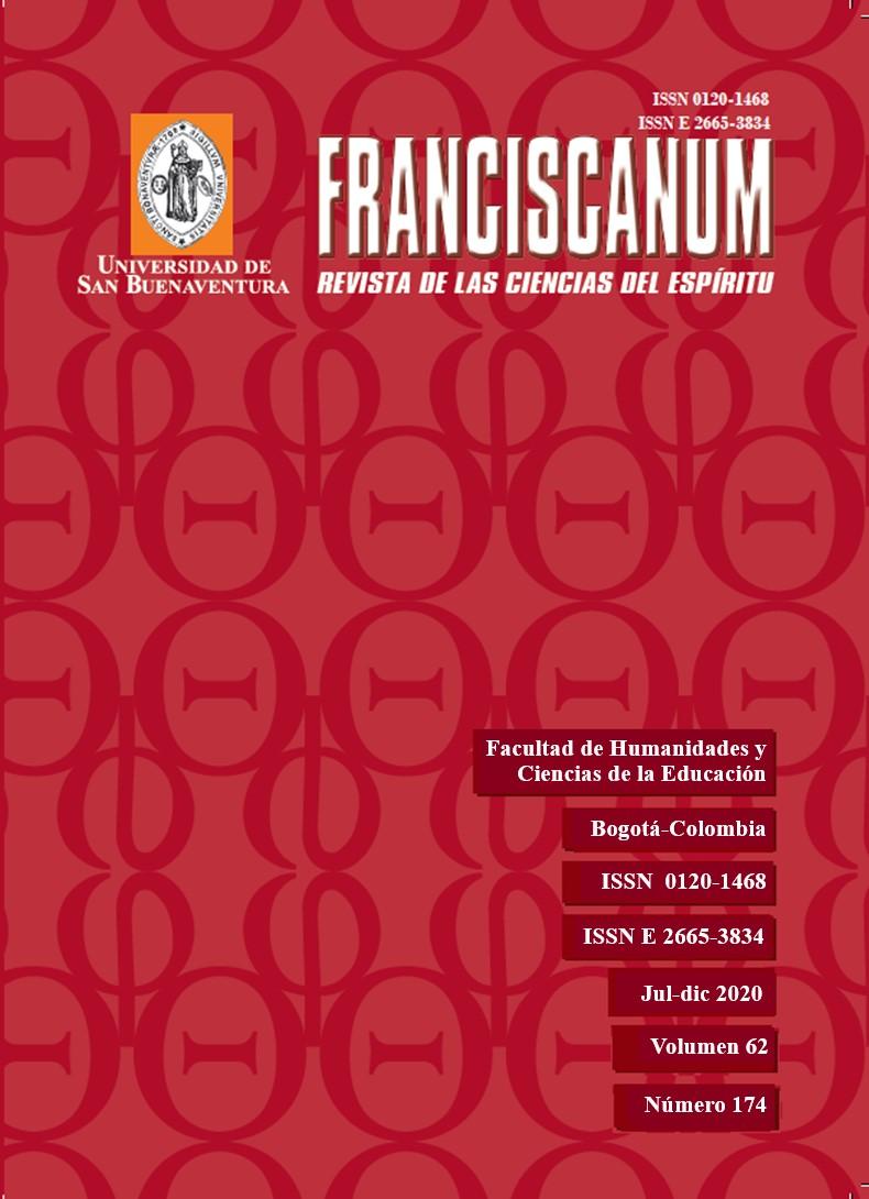 Ver Vol. 62 Núm. 174 (2020): Franciscanum 174